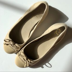 Cole Haan Nike Air Taupe Ballet Flats 5M